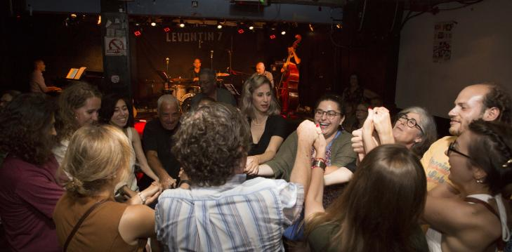 Yiddish concert and party