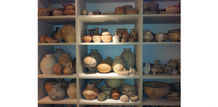 collection room - ancient pottery