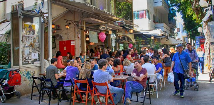 Located in Tel Aviv, at the heart of young, variegated Israeli life