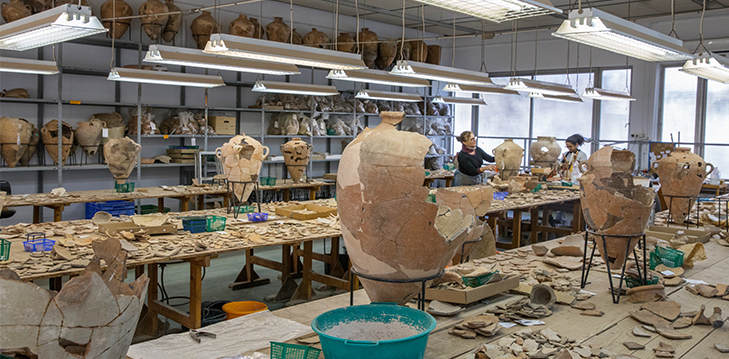 Learn how to reconstruct the past and acquire professional Archaeological skills